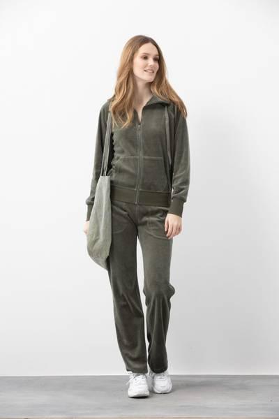 Bilde av Blue Konstanz Velvet Jacket