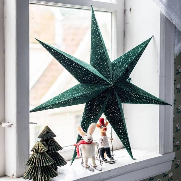 Bilde av Und Velurstjerne Grønn med