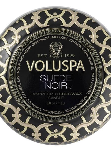 Bilde av Voluspa Mini Tin Suede Noir