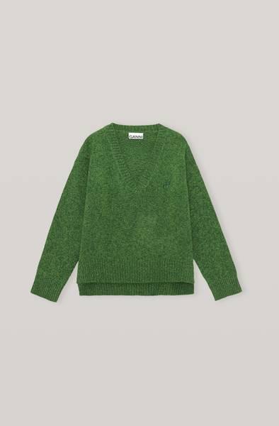 Bilde av Ganni K1573 Wool Mix Pullover