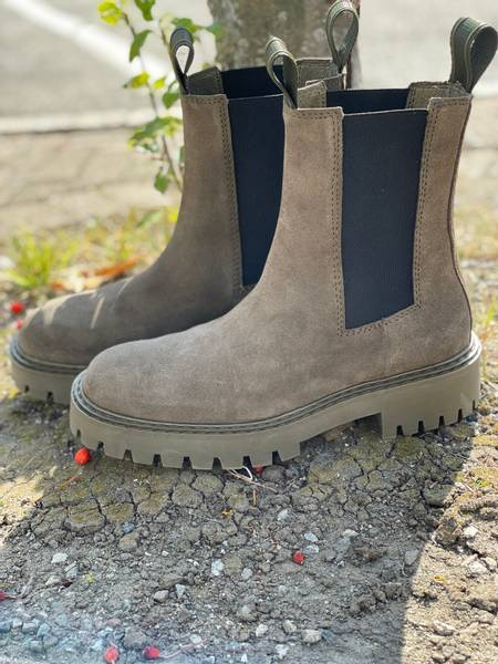 Bilde av Läst Daze Suede Boots Olive